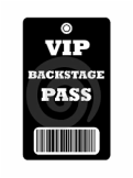 Firebird Theatre Workshop VIP Backstage Pass