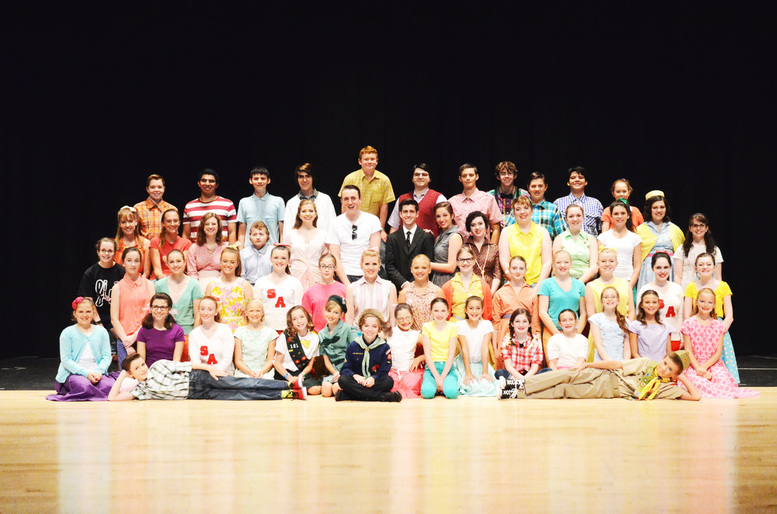 Firebird Theatre Cast of Bye Bye Birdie main stage production